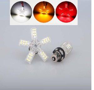 1156 1157 40SMD 3528 Chip Weiß Led Spider Light 5 Claws Auto Auto Rückschwanz Singal Bremslicht Lampen DC 12 V