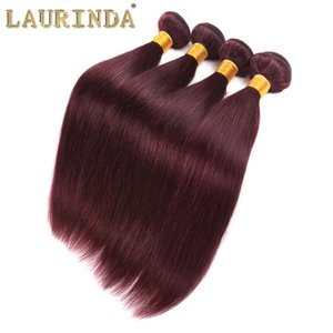 İnsan Saç Ürünleri 1b99J Perulu Remy Düz Ombre Saç atkıların İşlenmemiş İpeksi Düz Real İnsan Saç 4 Paketler