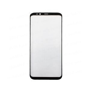 Sostituzione originale della lente di vetro del touch screen esterno anteriore 50PCS per Samsung Galaxy S8 G950 S8 Plus G955