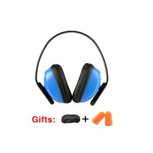 Marka Yeni Anti-gürültü Taktik Işitme Koruma Kulaklık Kulak Koruyucusu Muff, Azaltmak Uyku Gürültü Earmuffs, Deltaplus 103010