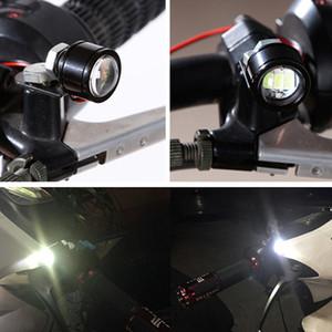 Высокое Качество Мотоцикла LED Строб Вспышки Сигнальная Лампа Стоп-Сигнал Прожекторы Рыбий Глаз Объектив Лампы