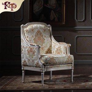 Royalty Classicliving room furniture - Barok Stil Klasik Armchiar - Avrupa Rokoko Mobilyaları Versay Tek Kişilik Sandalye