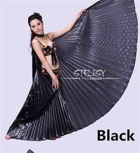 2018 11 لونًا لاختيار Angle Wings Egypt Egypt Belly Dance Costume إيزيس وينغز إكسسوارات ملابس الرقص (بدون عصا)