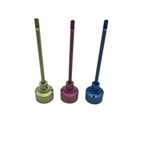 Toptan Kubbesiz Titanyum tırnak elektrokaplama Carb Kap 14mm 18mm Erkek Kadın Carb Kap Sınıf 2 VS Seramik / Kuvars Nai Cam su borusu