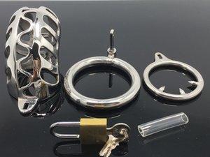 Устройство Наиболее популярные оптовые стальные Usjouets Chastity Device Metal Chastity Нержавеющая Взрослые Вроды JJ STARTION Оправляются в Man Jo VWLB