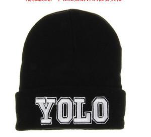 Мода мужчины хип-хоп YOLO письмо Snapback шапочки хип-хоп зима Марка дизайн пользовательские вязание череп шапочки шапки для женщин шляпы горячий стиль