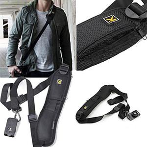 Schnelle Kamera Einzelne Schulter Schwarz Gurtband Für SLR DSLR Canon Nikon Sony Pentax Olympus Samsung Kamera