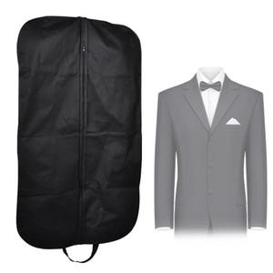 Robe noire stockage vêtement costume manteau housse de voyage cintre protecteur Cael housse cintre ProSuit manteau housse de voyage cintre protecteur sac de transport