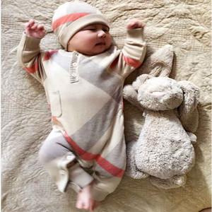 따뜻한 유아 베이비 Rompers 겨울 옷 신생아 아기 소년 소녀 니트 스웨터 점프 슈즈 후드 아이 베이비 겉옷과 모자