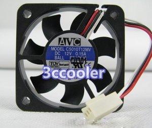 AVC 50*50*10mm C5010T12MV 12V 0.15A 3Wire 5cm Cooling Fan