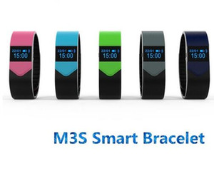 M3S Smart Bracelet OLED Display Heart Rate Bluetooth Sync Remote Camera Anti-lost for iphone6 6s Plus Smart Wristband