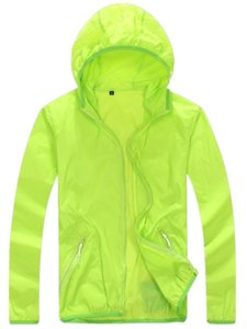 Wholesale-Quick Drying skin Windbreaker 2016 Sun Protection Clothing men &women Ultra-thin Waterproof Breathable uv protection shirt