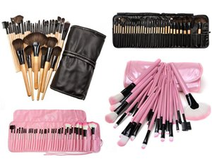 32 PCS  Set Professional Beauty Makeup Brushes Set Tools Foundation Blush Eye Shadow Powder Make Up Brush Toiletry Kit Case