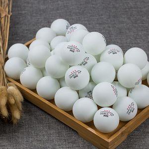 99pcs / lot Jaune et Blanc 3-Star 40mm Balles de Tennis de Table Ping Pong balles