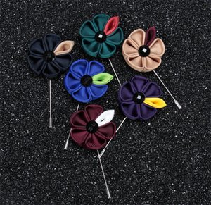 Nouveau modèle coréen costume classique fleur manuel ruban Sun Accessoires délicats vêtements costume homme Angleterre Accessoires pièces
