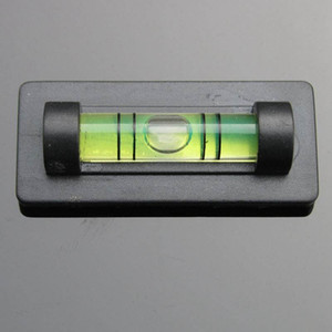 HACCURY Foto Quadro Parede TV Rack Nível bolha frascos de bolha de nível de bolha com tarja Magnética 17X9.3X40MM