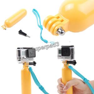 Floaty Bobber Handheld Grip Stick Mergulho Flutuante Câmera Para GoPro Hero 3 + 4 com Cinta + Parafuso