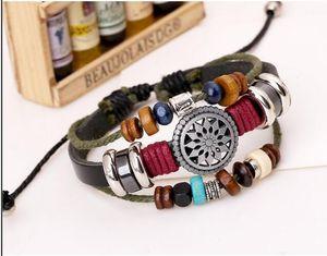 New Style Fashion Charms Bracelets popular Leather Infinity Multilayer Bracelets For Women's Men's Jewelry 10pcs lot