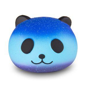 Carino PU Squishy Super Slow Rising Jumbo Panda Squishy Squeeze Cinghia Del Telefono Giocattolo Per Bambini Divertente Regalo Decompressione Giocattolo 30 pz