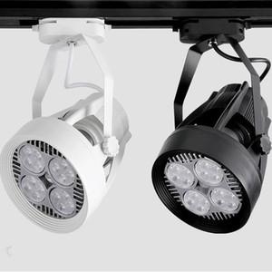 35W PAR30 Track Lighting Fan raffreddamento E27 110V 220V Track Lamp per negozio di abbigliamento sala espositiva 10pcs