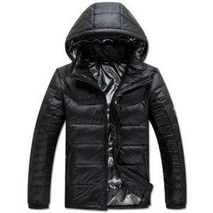 M-XXXL 2017 Новый зимний теплый пуховик Человек высокого качества Лихорадка вниз пальто Outwear 90% белая утка вниз 4 цвета Бесплатная доставка