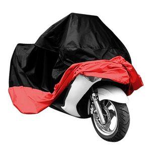 Su geçirmez Motosiklet Kapak L XL XXL Moto motosiklet Moped Scooter Kapak Yağmur UV Toz Önleme Toz Geçirmez Kapsayan açık