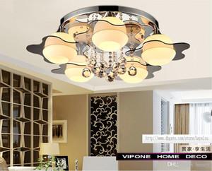 Basit ve modern kristal tavan. Cam Tavan Yıldızları. Oturma odası yatak odası çalışma lambası restoran ışıkları balkon.
