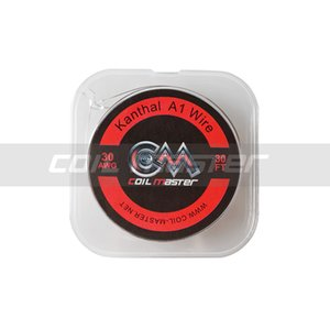 100% Original Coil Master A1 Wire 30FT 22 24 26 28 30AWG Top Quality Wire for Vape RDA Coil Rebuilding