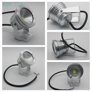 Edison2011 12V 10W LED Luz subacuática IP68 IP68 Fuente impermeable Tanque de pescado Aquarium Monochromatic 8 colores Envío gratis