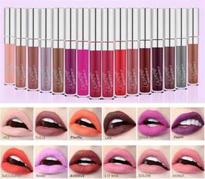 2017 Yeni Colourpop Dudak Parlatıcı ULTRA MAT SIVI rujlar Çeşitli renkler Uzun Ömürlü dudaklar Renk pop 24 Renkler