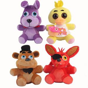 """10"""" 25cm Five Nights At Freddy's 4 FNAF Freddy Fazbear Bear Foxy Wolf Plush Toys Kids Toys Soft Tuffed Toys Doll"""