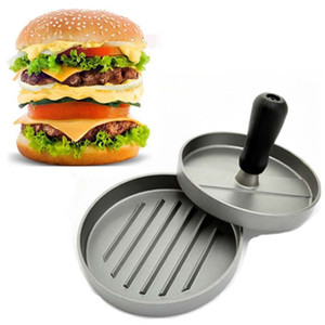 Hamburger caldo Burger Maker Patty Press Burger Machine Utensili da cucina Strumenti di carne di pollame Pressione manuale Macchina per la cottura di carne Presse