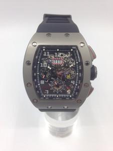envío hk libre _ 2016 NUEVA edición de lujo Reloj para hombre deporte Mecánica cronógrafo cristal de zafiro Reloj de alta calidad para hombres de lujo