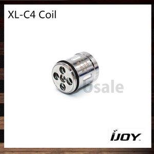 Bobine de puce lumineuse iJoy XL-C4 pour bobines de rechange de réservoir sans limites XL RTA 0.15ohm 100% d'origine