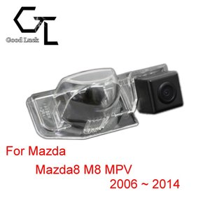Mazda 8 Mazda8 MPV 2006 ~ 2014 için Kablosuz Araba Oto Ters CCD HD Dikiz Kamera Park Yardımı
