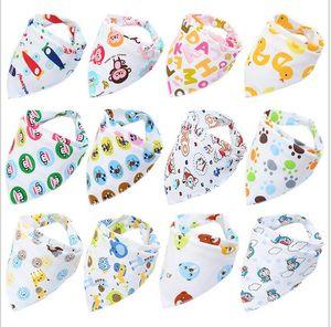 PrettyBaby 2017 Baberos de Bebé Lindo Algodón Recién Nacido Triángulo Burp Paño Bandana Infantil Saliva Bavoir Toalla Alimentación Bebé recién nacido Niñas niños