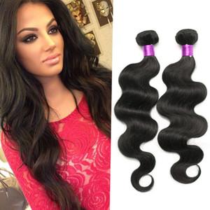 9A Brazilian Peruvian Malaysian Human Hair Body Wave 3pcs 100g pcs Brazillian Human Hair Body Wave Brizilian Virgin Human Extensions