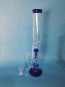 무료 배송 유리 포크 유리 벌집 필터 유리 물 파이프, h : 38cm d : 5cn /4.5cm