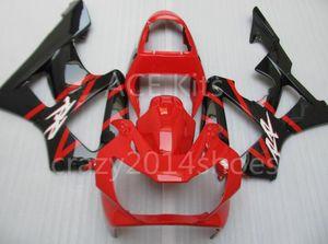3 brindes novos ABS KIT de Carenagem Da Motocicleta para HONDA CBR900RR 929 00 01 CBR 900RR 2000 2001 CBR900 Preto Vermelho K5