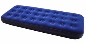 """73 """"x29"""" x7.5 """"Tek Boyutlu Hava Yatağı Kamp Yürüyüş Malzemeleri Mavi"""
