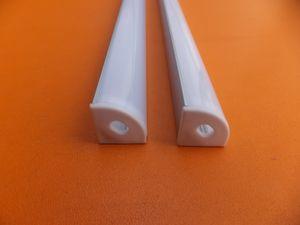 Vente populaire Prix 1m Bon / pcs15m / Lot LED Livraison gratuite Profil en aluminium avec PC Cover Cabinet Armoire en aluminium Manche Porte LED bande