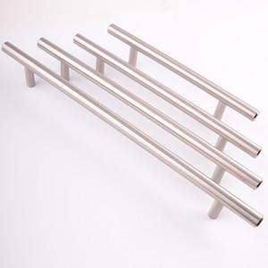Moderne Satinless Acier T bar accueil bureau meubles accessoires placard placard commode armoire de cuisine porte tiroir armoire fer tirer poignée