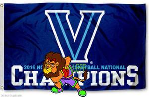 Villanova Wildcats Bayrak 2016 Basketbol Milli Champs NCAA Bayrak 3 mx 5 ft Polyester Banner Uçan 150 * 90cm Özel bayrak VW5