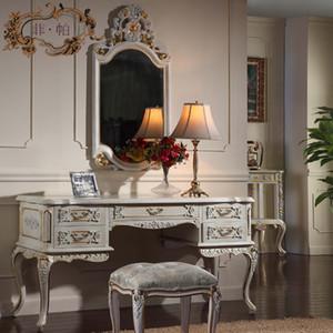 Muebles franceses de chateau - Muebles provinciales franceses - tocador europeo