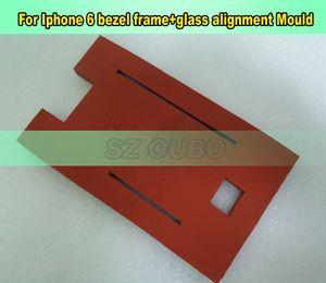 "Marco de cristal de moldes de aluminio para iphone6S 6G de metal 4.7"" molde laminador para la laminación de OCA Máquina de cristal LCD Frame Repair"