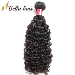 Bella Hair® 8A capelli ricci tesse capelli vergini brasiliani colore naturale cambogiano malese indiano peruviano trama dei capelli umani 3 pz spedizione gratuita