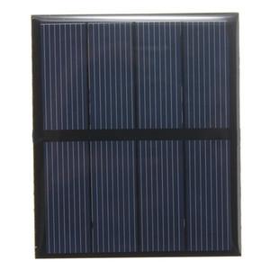 Распродажа! 2V 0.6W Mini Solar Cell поликристаллический эпоксидный панель солнечных батарей DIY солнечных модулей Образование комплекты 10шт / Lot Бесплатная доставка