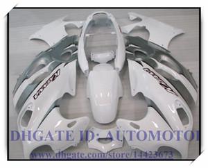 ABS высокого качества набор зализа ABS 100% подходит для Suzuki GSX 600F 03-06 Katana GSX600F / 750F 2003-2006 2004 2005 Katana # J671G WHITE SILVER