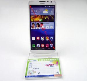 Support de support de support de présentoir de téléphone portable en acrylique transparent Clear Acrylic Mobile Phone Display StaClear
