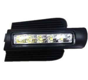 LED DRL For Toyota Land cruiser prado 120 LC120 FJ120 2003~2009 daytime running lights with light-off function